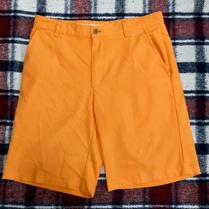 Izod orange golf shorts
